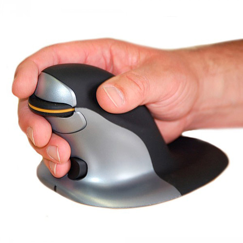 Posturite Penguin Wired Vertical Mouse (Large) pas cher