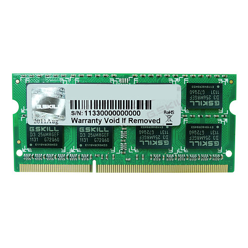 G.Skill SO-DIMM 4 Go DDR3 1600 MHz CL11 pas cher