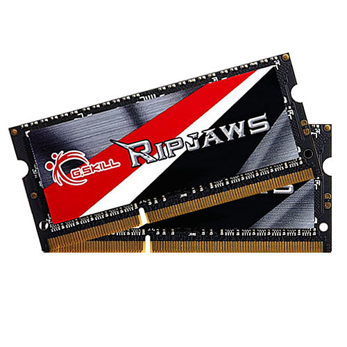 G.Skill RipJaws SO-DIMM 8 Go (2 x 4 Go) DDR3L 1600 MHz CL9 pas cher