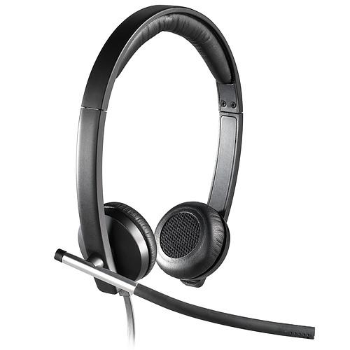 Logitech USB Headset Stéréo H650e pas cher