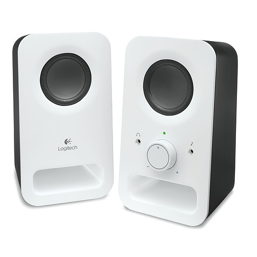 Logitech Multimedia Speakers Z150 (Blanc) pas cher