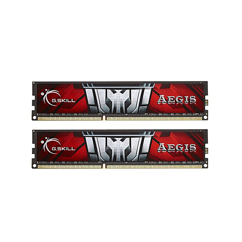 G.Skill Aegis Series 8 Go (2 x 4 Go) DDR3 1600 MHz CL11 pas cher