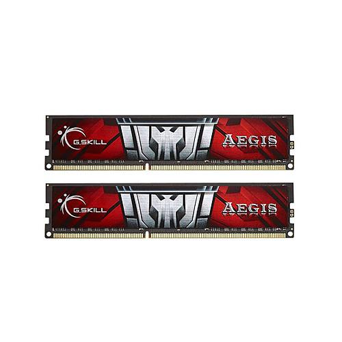 G.Skill Aegis Series 8 Go (2 x 4 Go) DDR3L 1600 MHz CL11 pas cher
