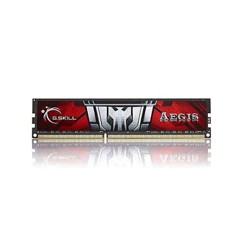 G.Skill Aegis Series 16 Go (2 x 8 Go) DDR3 1600 MHz CL11 pas cher
