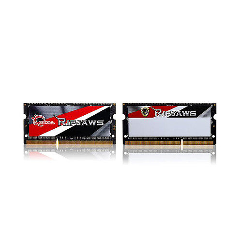 G.Skill RipJaws Series SO-DIMM 16 Go (2 x 8 Go) DDR3/DDR3L 1600 MHz CL11 pas cher