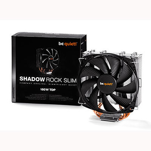 be quiet! Shadow Rock Slim pas cher