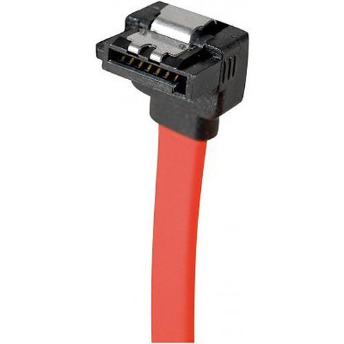 Câble SATA coudé vers le bas avec verrou (50 cm) pas cher