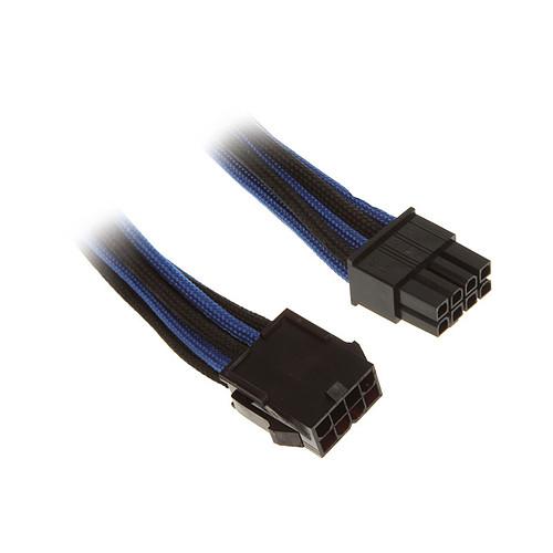BitFenix Alchemy Blue/Black - Extension d'alimentation gainée - EPS12V 8 pins - 45 cm pas cher