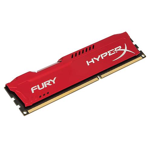 HyperX Fury 4 Go DDR3 1600 MHz CL10 pas cher