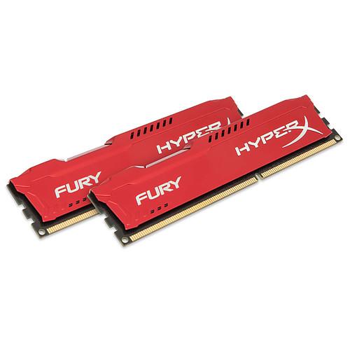 HyperX Fury 16 Go (2x 8Go) DDR3 1866 MHz CL10 pas cher