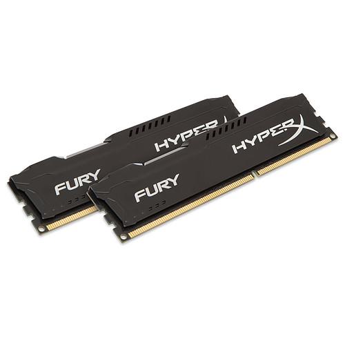 HyperX Fury 8 Go (2x 4Go) DDR3 1600 MHz CL10 pas cher