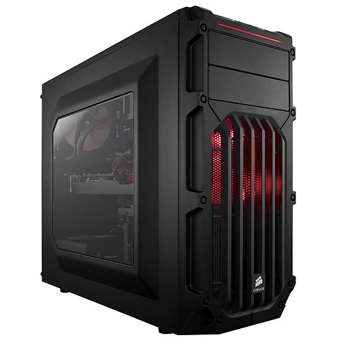 Corsair Carbide SPEC-03 Red LED Windowed pas cher