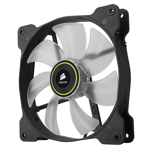 Corsair Air Series SP120 Green High Static Pressure (par 2) pas cher