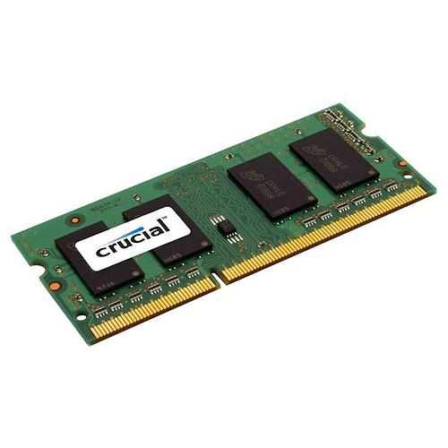 Crucial SO-DIMM 4 Go DDR3L 1866 MHz CL13 pas cher