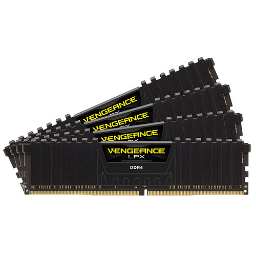 Corsair Vengeance LPX Series Low Profile 32 Go (4x 8 Go) DDR4 3600 MHz CL16 pas cher