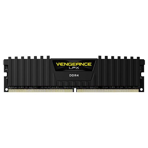 Corsair Vengeance LPX Series Low Profile 16 Go (4x 4 Go) DDR4 2400 MHz CL14 pas cher