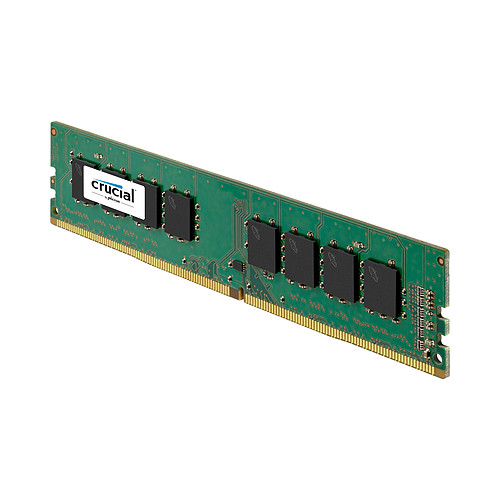 Crucial DDR4 4 Go 2400 MHz CL17 SR X8 pas cher