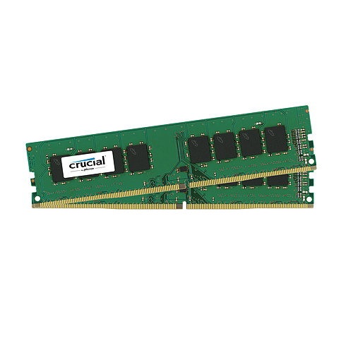 Crucial DDR4 8 Go (2 x 4 Go) 2400 MHz CL17 SR X8 pas cher