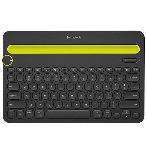Logitech Multi-Device Keyboard K480 Noir pas cher