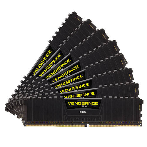 Corsair Vengeance LPX Series Low Profile 128 Go (8x 16 Go) DDR4 3800 MHz CL19 pas cher