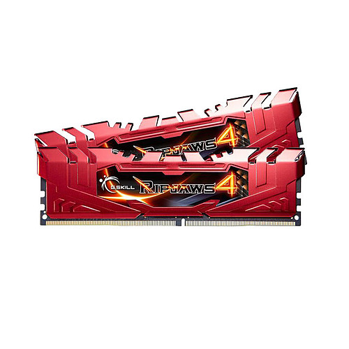 G.Skill RipJaws 4 Series Rouge 16 Go (2x 8 Go) DDR4 2133 MHz CL15 pas cher