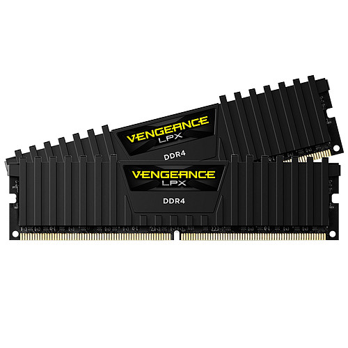 Corsair Vengeance LPX Series Low Profile 16 Go (2x 8 Go) DDR4 2666 MHz CL16 pas cher