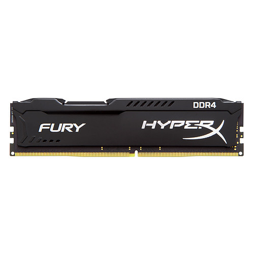 HyperX Fury Noir 32 Go (2 x 16 Go) DDR4 2933 MHz CL17 pas cher
