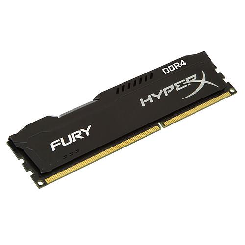 HyperX Fury Noir 8 Go (2x 4Go) DDR4 2666 MHz CL15 pas cher