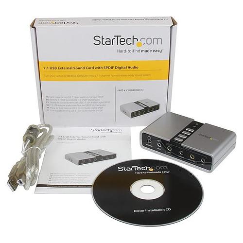 StarTech.com ICUSBAUDIO7D pas cher