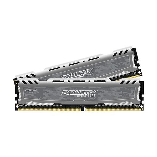 Ballistix Sport LT 8 Go (2 x 4 Go) DDR4 2400 MHz CL16 pas cher