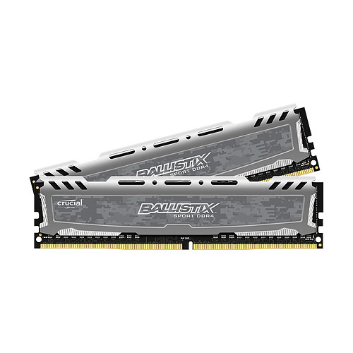 Ballistix Sport LT 32 Go (2 x 16 Go) DDR4 3000 MHz CL16 pas cher