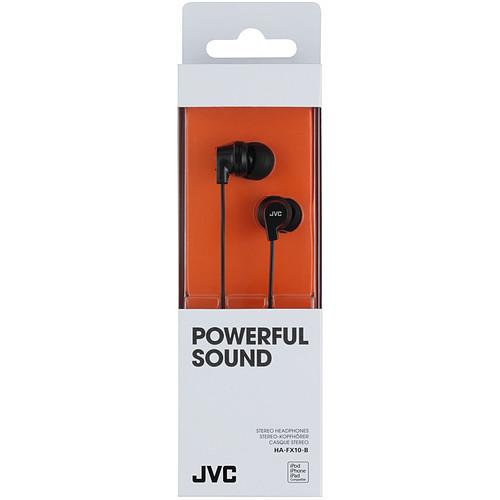 JVC HA-FX10 Noir pas cher