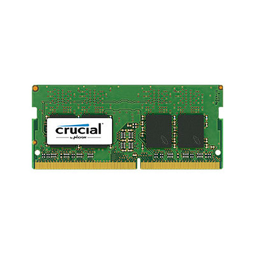 Crucial SO-DIMM DDR4 8 Go 2400 MHz CL17 SR X8 pas cher