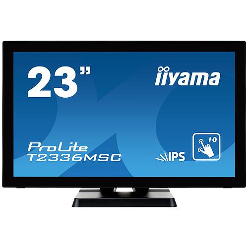 "iiyama 23"" LED Tactile - ProLite T2336MSC-B2 pas cher"