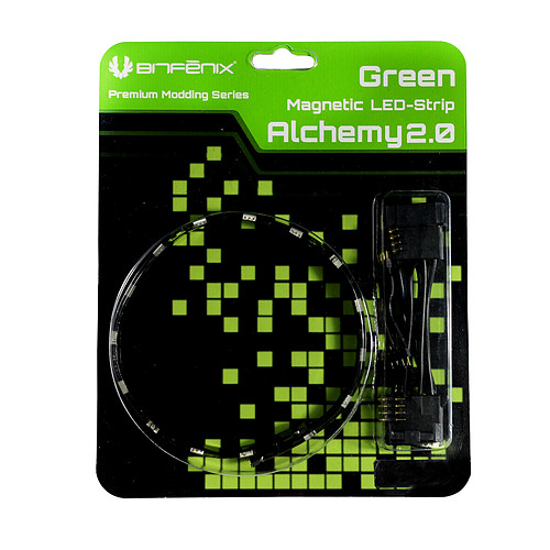BitFenix Alchemy 2.0 Magnetic LED-Strip (vert, 12 cm) pas cher