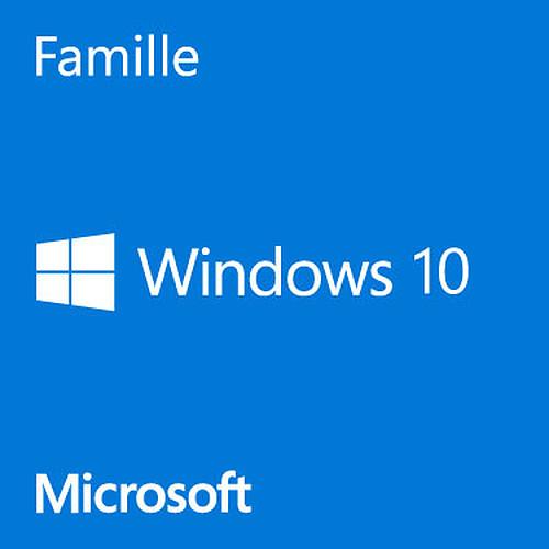 Microsoft Windows 10 Famille 64 bits - OEM (DVD) pas cher