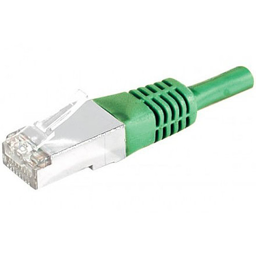 Câble RJ45 catégorie 5e F/UTP 20 m (vert) pas cher