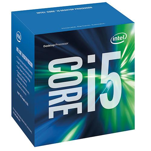 Intel Core i5-6600 (3.3 GHz) pas cher