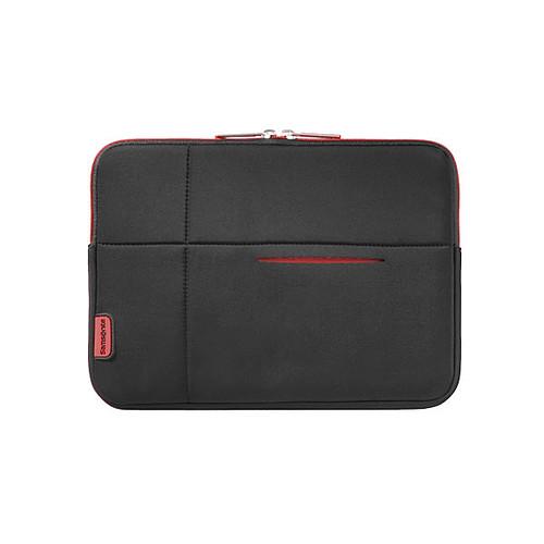"""Samsonite Airglow Sleeve 13.3"""" (coloris noir/rouge) pas cher"""