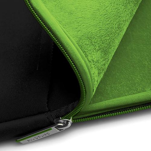 "Samsonite Airglow Sleeve 13.3"" (coloris noir/vert) pas cher"