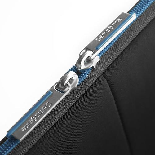 """Samsonite Airglow Sleeve 13.3"""" (coloris noir/bleu) pas cher"""