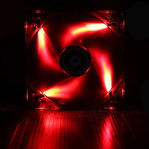 BitFenix Spectre LED PWM 120mm - Rouge pas cher