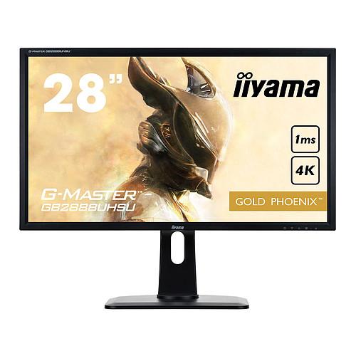 "iiyama 28"" LED - G-MASTER GB2888UHSU-B1 pas cher"