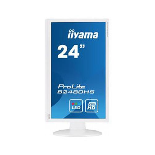 "iiyama 23.6"" LED - ProLite B2480HS-W2 pas cher"