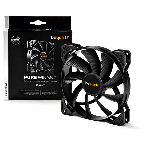 be quiet! Pure Wings 2 120mm PWM pas cher