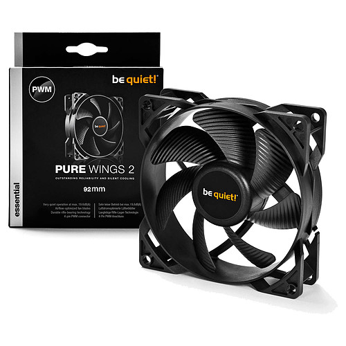 be quiet! Pure Wings 2 92 mm PWM pas cher