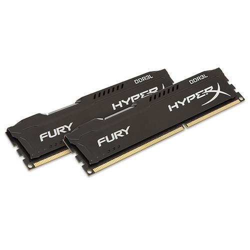 HyperX Fury 16 Go (2 x 8 Go) DDR3L 1600 MHz CL10 pas cher