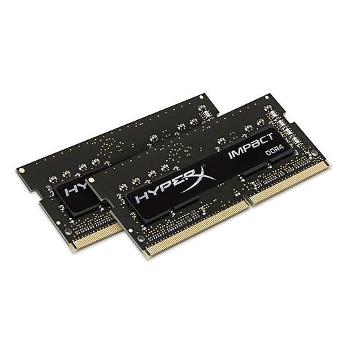 HyperX Impact SO-DIMM 32 Go (2 x 16 Go) DDR4 2666 MHz CL15 pas cher