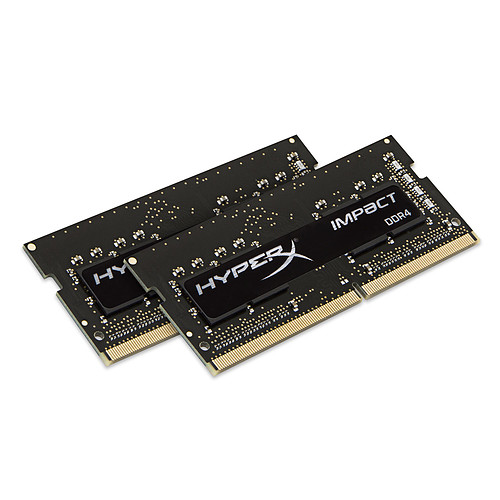 HyperX Impact SO-DIMM 16 Go (2 x 8 Go) DDR4 2666 MHz CL15 pas cher