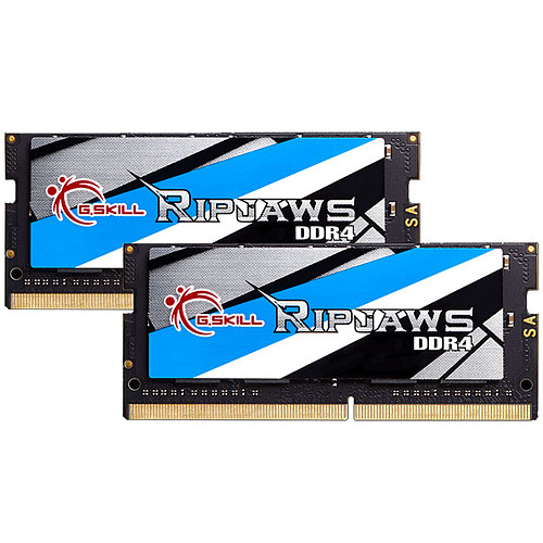 G.Skill RipJaws Series SO-DIMM 32Go (2 x 16 Go) DDR4 2400 MHz CL16 pas cher